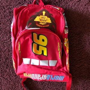 Small Lightning McQueen backpack